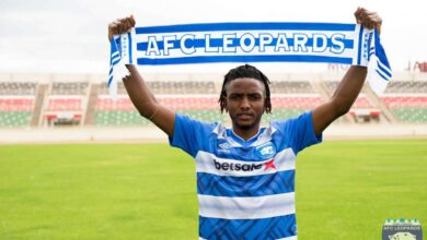 Photo of Blow to AFC Leopards as DRC's Midfielder Mugheni Season Over