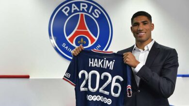 Photo of Morocco Defender Hakimi Joins PSG