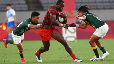 Photo of Tokyo Olympics: Kenya Sevens fall to South Africa in Pool C