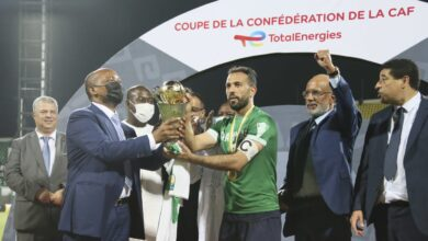 Photo of Morroco's Raja Crowned Caf Confed Cup champions